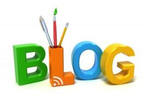 Blog con colores